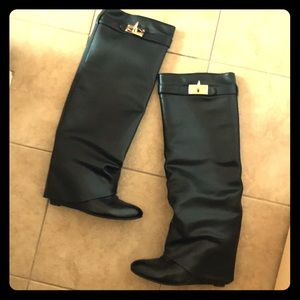 Shoes - Knee High Boots. Inspired by GIVENCHY boots